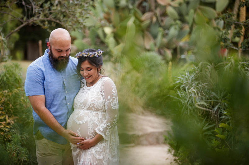 Maternity session at WPA Rock Garden