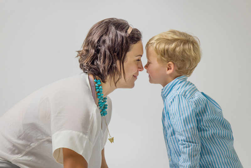 Mother and Son Studio Session Walnut Creek