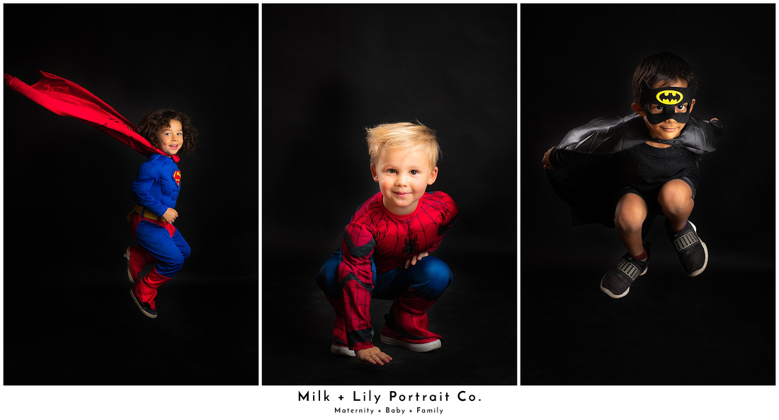 Milk and Lily Portrait Co Halloween Trick or Treat