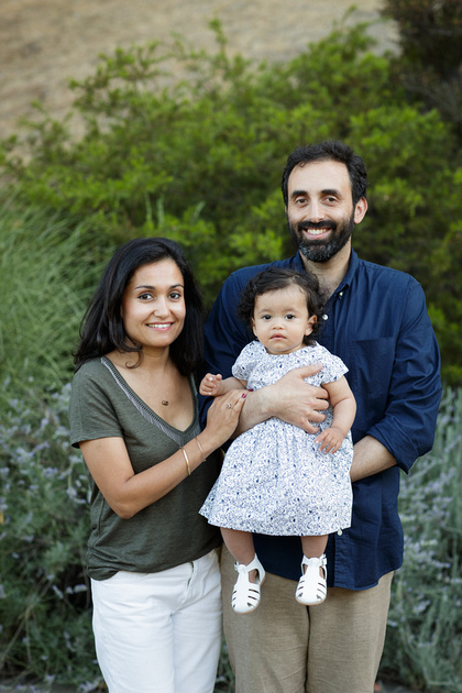 Bay Area Outdoor Family Photo Session